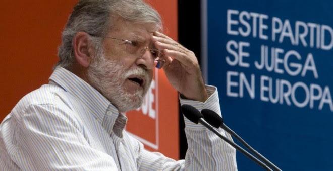 El expresidente de Extremadura, Juan Carlos Rodríguez Ibarra. EFE