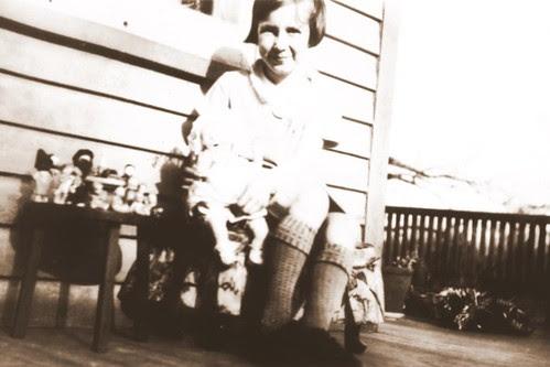 Alice Holly in April 1929