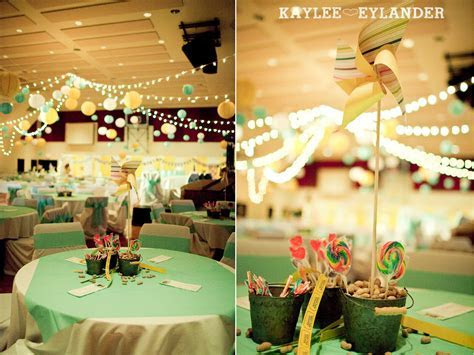 DIY Circus theme Wedding Reception   Bethany Assembly