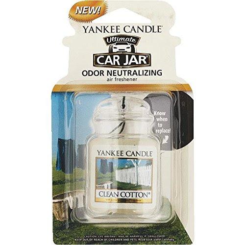 Yankee Candle® Clean Cotton Car Gel Air Freshener Home ...