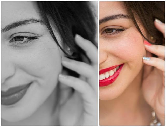 Face and Mani closeup