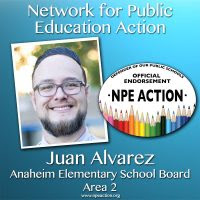 Juan Alvarez for Anaheim Elementary School Board