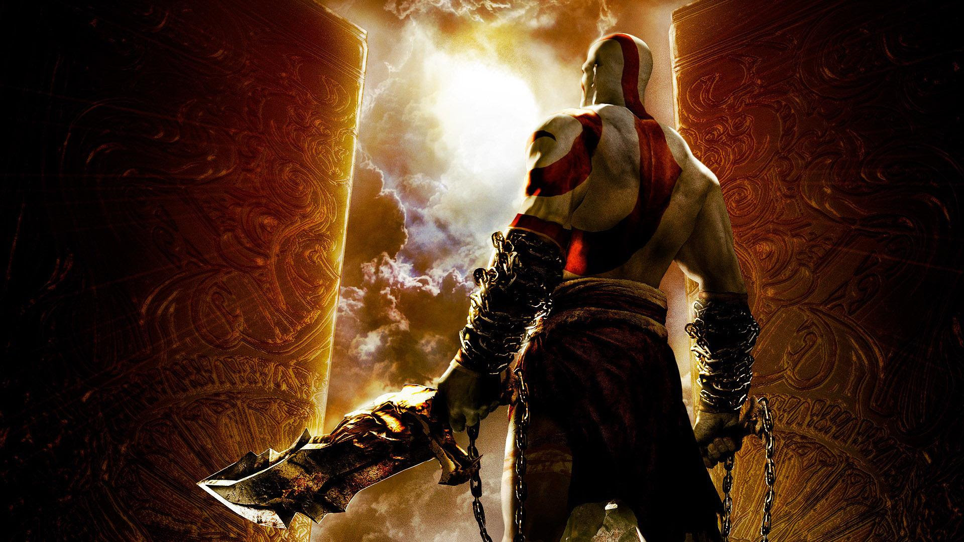 Hd Kratos Looking At The Sky God Of War Wallpaper Download