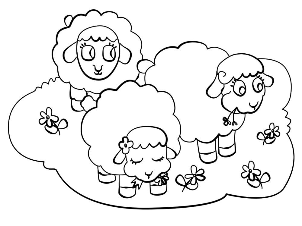 Dibujos Para Colorear Granja Para Niños