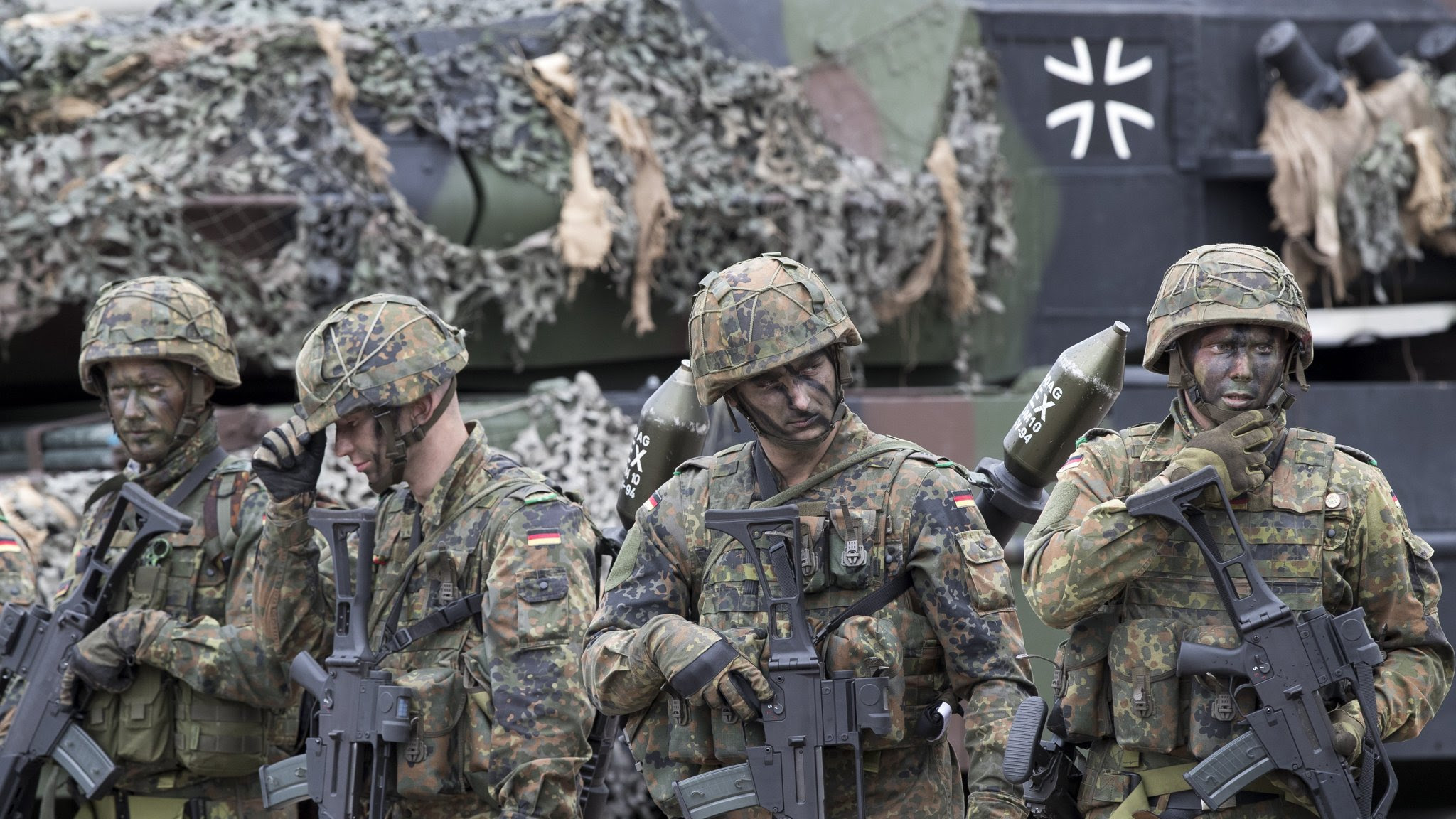Image result for Germany plans to increase size of armed forces