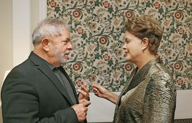 Dilma e Lula (Foto: Ricardo Stuckert/ Instituto Lula)