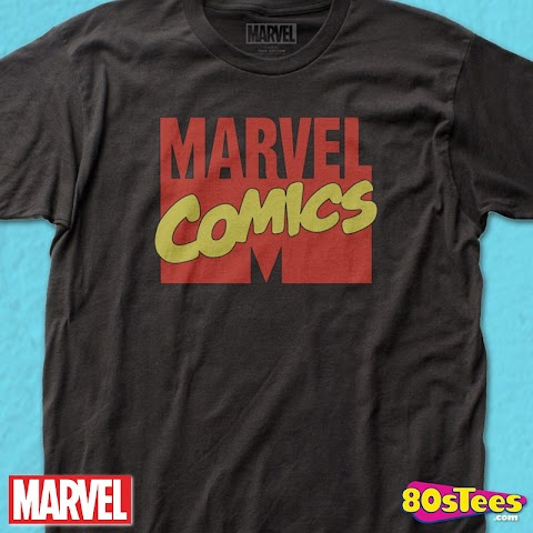 Marvel Comics Logo T Shirt