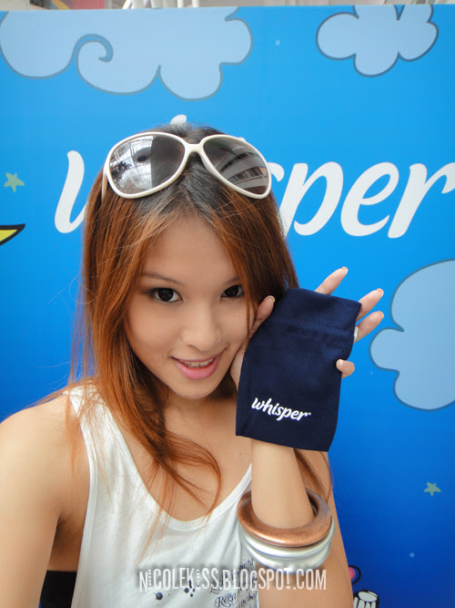me and whisper pouch