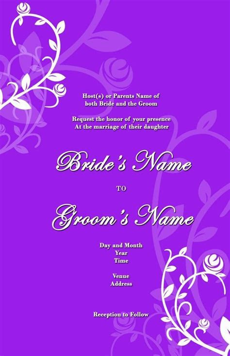 26 best images about Weddin invitation card on Pinterest