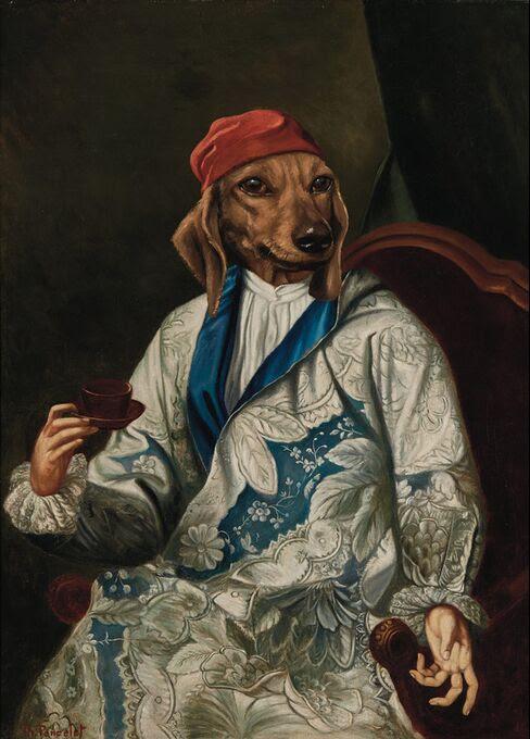 Chevalier de Saint-Denis by Thierry Poncelet, Estimate: $1,500—$2,500.
