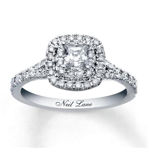 Neil Lane Engagement Ring 1 ct tw Diamonds 14K White Gold