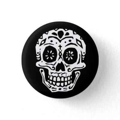 day of the dead skull. Day Of The Dead Skull 2 pin $