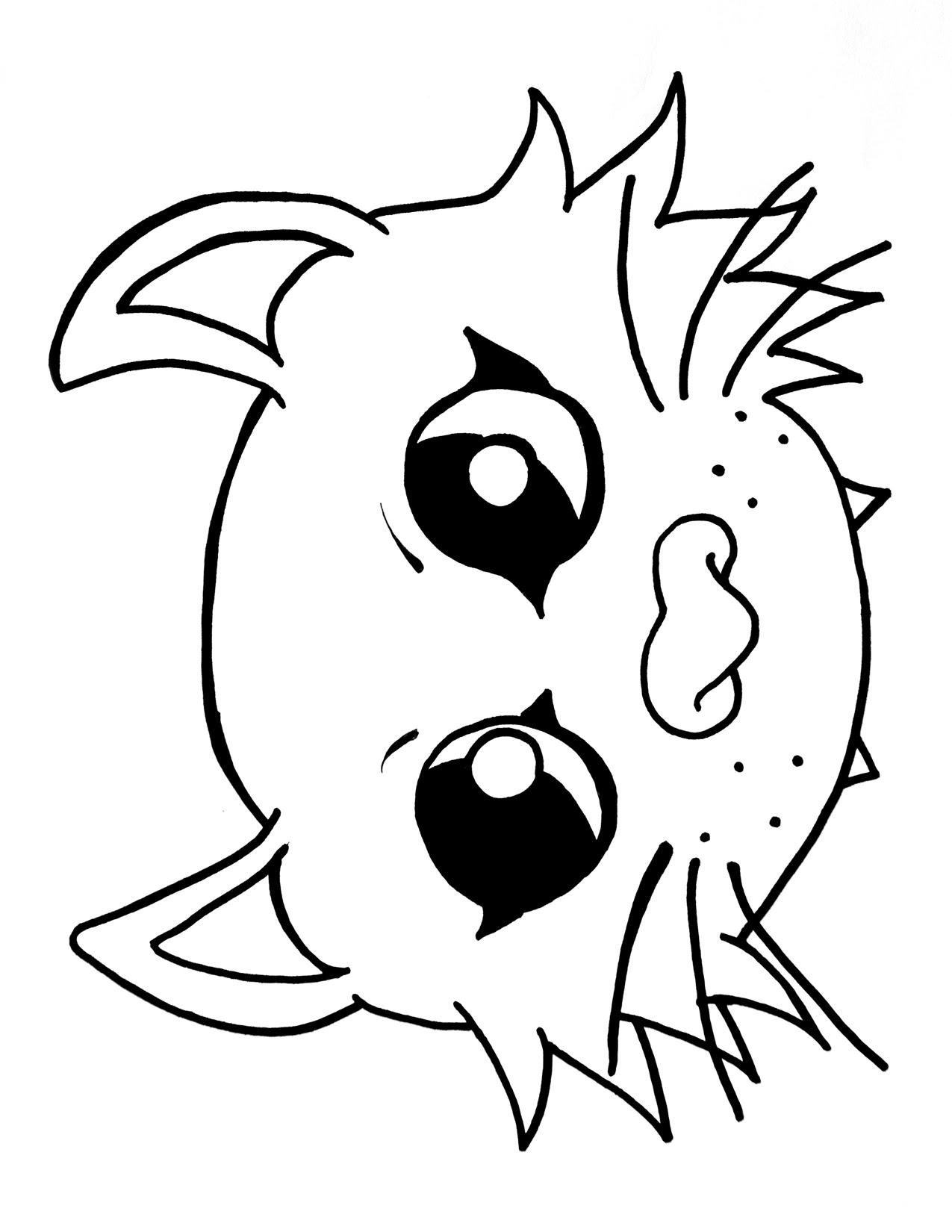 Bat Face Drawing at GetDrawings | Free download