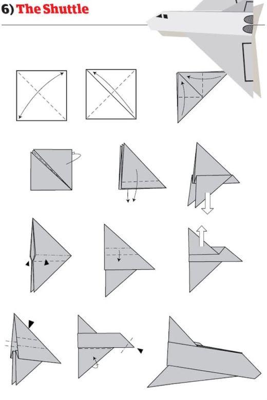 飛行機 折り 方 紙