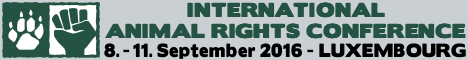 International Animal Rights Conference 2015 in Luxembourg