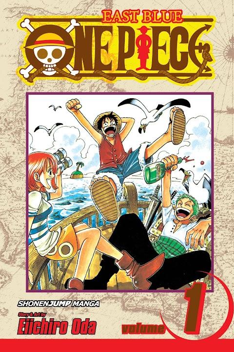One Piece English Comic Book