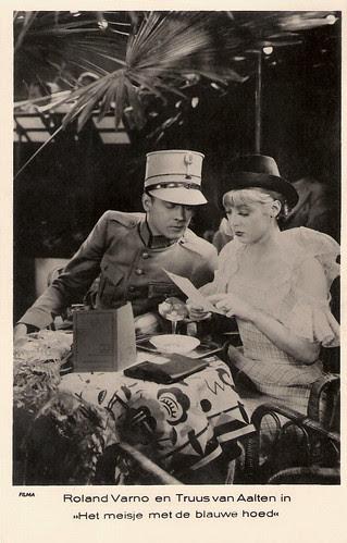 Truus van Aalten, Roland Varno in Het meisje met de blauwe hoed