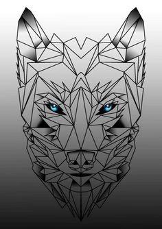 Geometric Tattoo Geometric Wolf Tattoo Google Search
