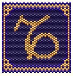 Capricorn - Item Number 2962 Free