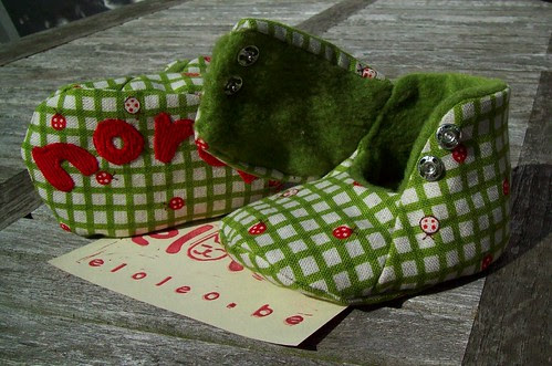 Baby shoes for Nora