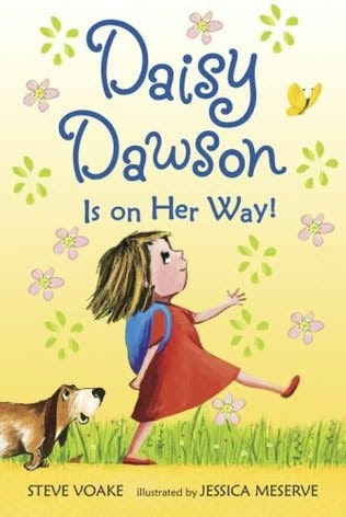 book cover of   Daisy Dawson Is on Her Way!   by  Steve Voake