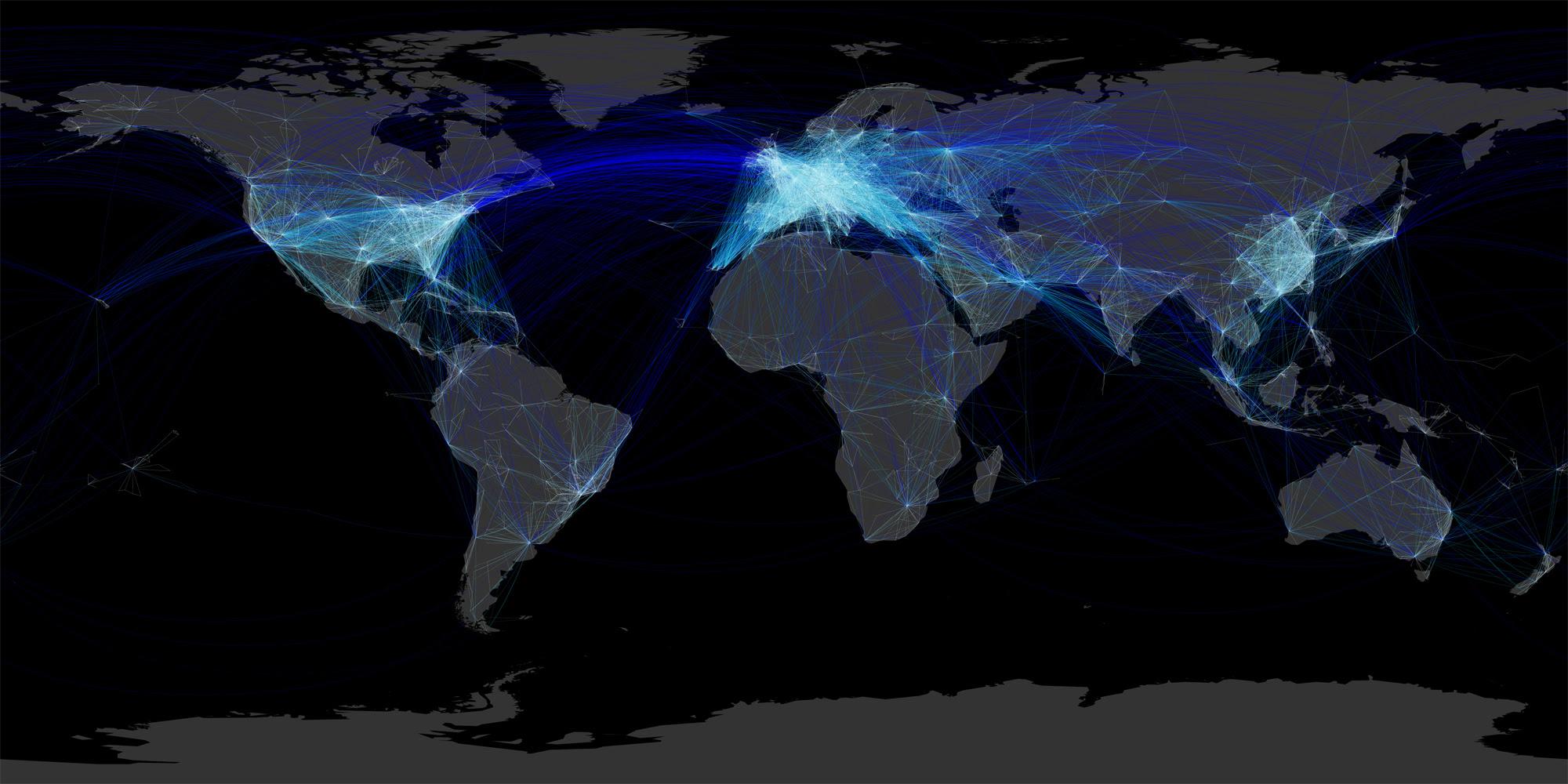 Risultati immagini per mappa delle rotte  aeree