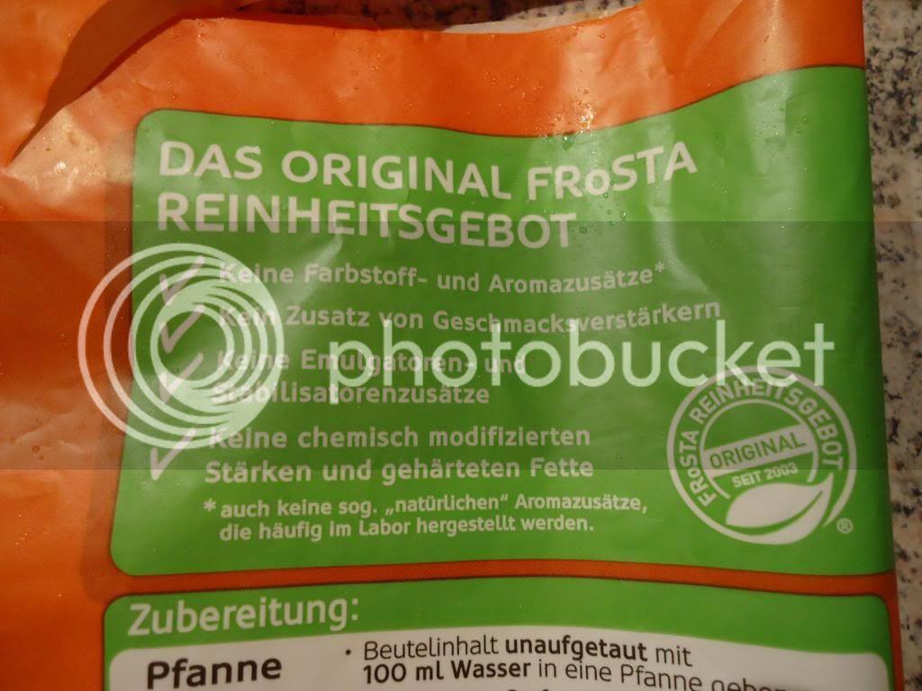 Frosta Pfannen - Vegetarisch