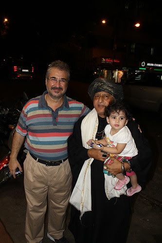 Dr Mansoor Showghi Yezdi And 2 Street Photographers by firoze shakir photographerno1