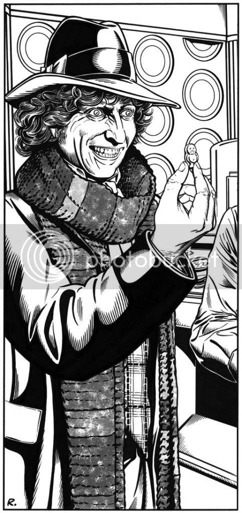 Graeme Neil Reid,Illustration,Doctor Who