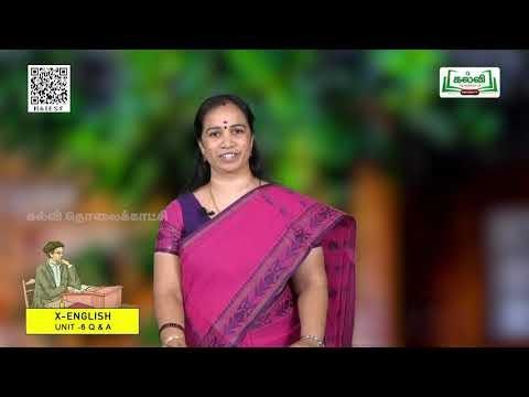 10th English Term 2 Prose The Last Lesson Unit 6 EM Kalvi TV