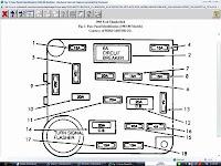 1990 Ford Bronco 2 Fuse Box Diagram