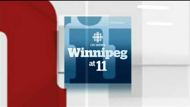 Late Night CBC TV News from Winnipeg
