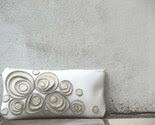 White Seashells Clutch