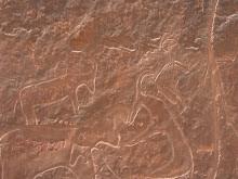 Gravats rupestres + gravats moderns. Anant a Oran