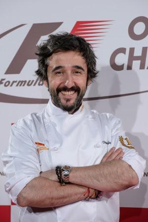 El chef Diego Guerrero, un sabio de la cocina con un objetivo: cautivar al comensal.