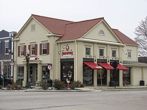 Image of Coldstone Creamery in Hudson, Ohio.