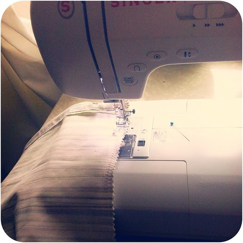 finally sewing again