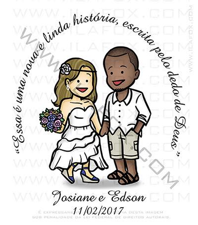 caricatura fofinha, caricatura casal, caricatura casamento, noivos