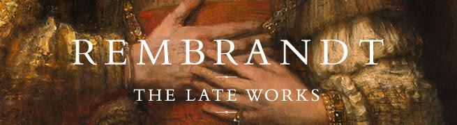 Rembrandt exhibition banner