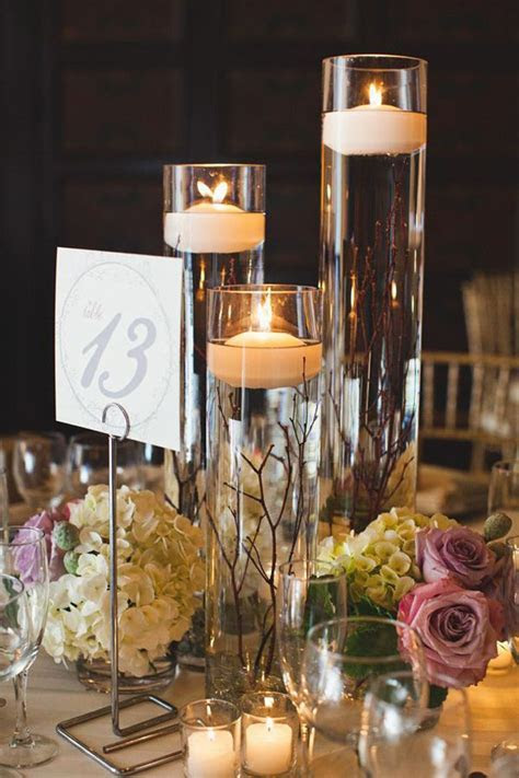 Fabulous Floating Candle Ideas for Weddings   Wedding