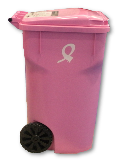 Garbage Cans Help Fight Breast Cancer Public Works Group Blog
