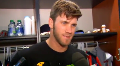 Bryce Harper: That's A Clown Question Bro