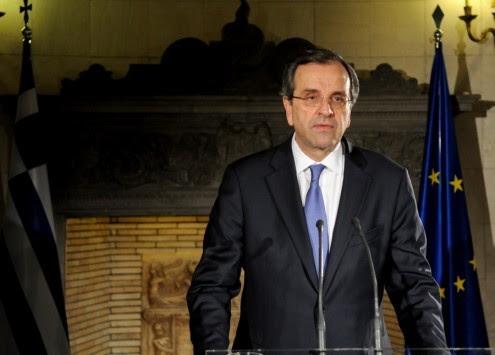 `Προεκλογικό` διάγγελμα Σαμαρά για τις ανακοινώσεις Ντράγκι για την αγορά ομολόγων