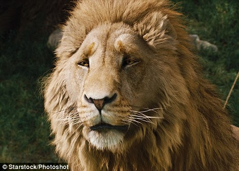 Symbol of Christ: The Character of Aslan, voiced by Neeson, was stated by its author C.S. Lewis as Christian