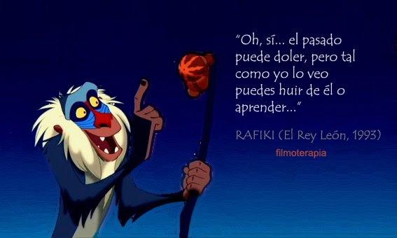 Frase sabiduría - El Rey León