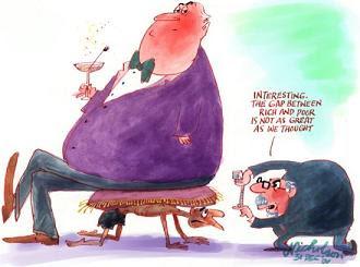 Χάσμα ανάμεσα σε πλούσιους και φτωχούς