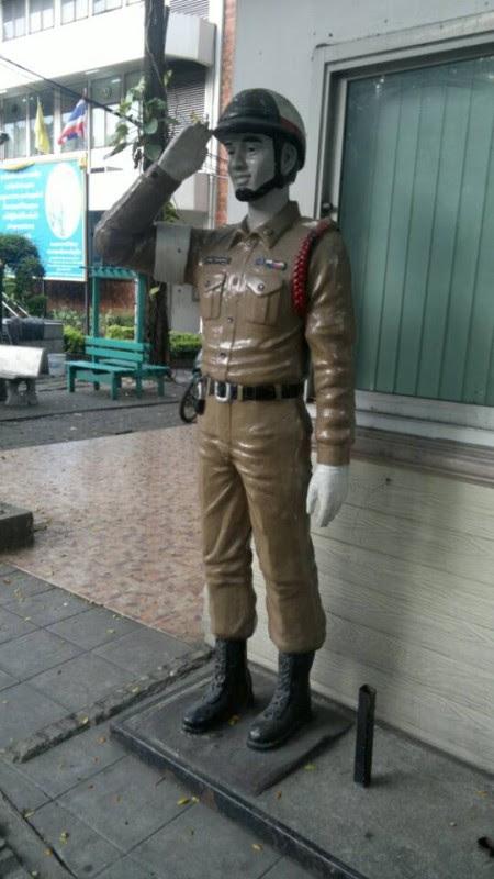 Munyeco policia tailandesa