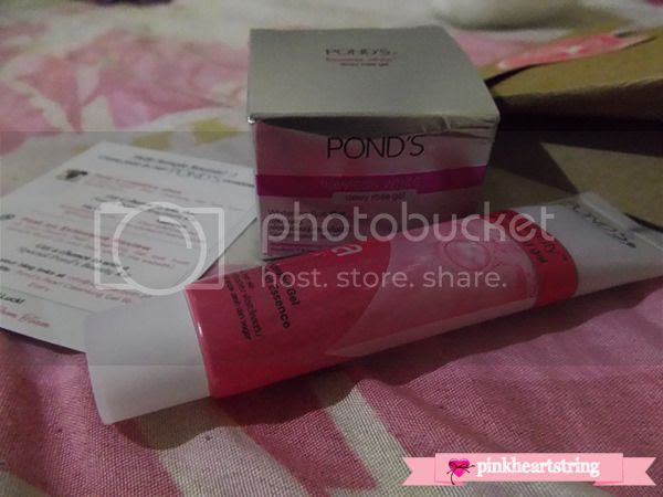 Pond's White Beauty Cleansing Gel and Whitening Soft Gel