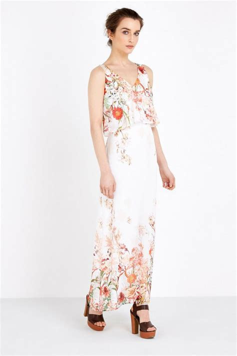 Petite Floral Overlay Maxi Dress   Wedding Guest Dresses