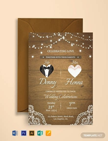 1136  FREE Invitation Templates   PDF   Word   PSD